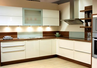 Modern kitchen | A modern and pleasant kitchen with plenty of light